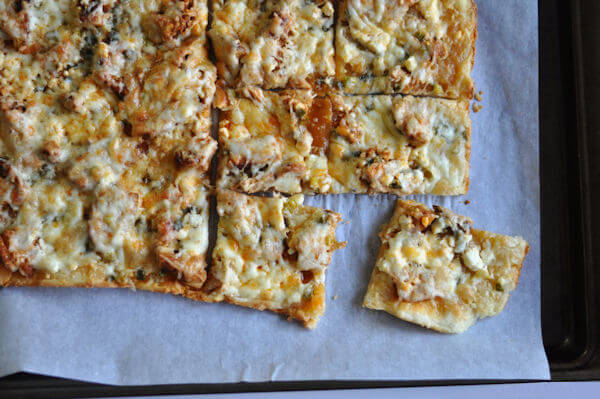 Buffalo Chicken Pizza 3