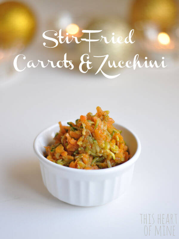 Stir-fried Carrots & Zucchini 1
