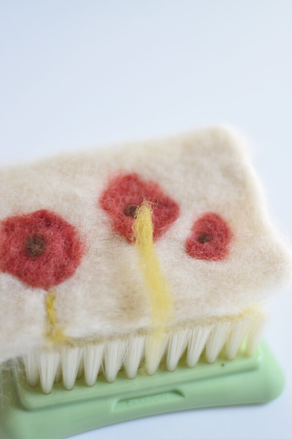 Felted Coffee Cozy 13