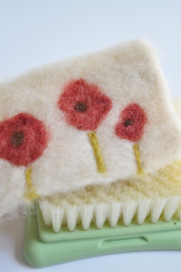 Felted Coffee Cozy 14