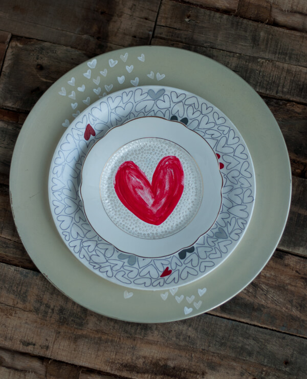 Painted Dishware | this heart of mine