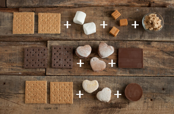 3 Good S'mores: Chocolate Lovers, Peanut Butter and Caramel Cashew | this heart of mine