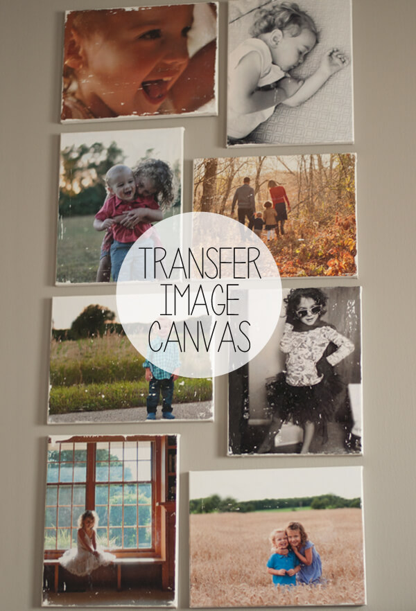 Transfer Image Canvas | this heart of mine