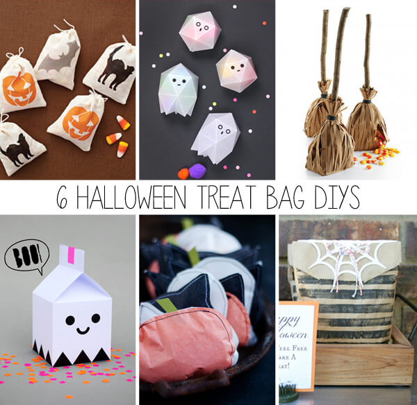 6 Halloween Treat Bag DIYs | this heart of mine
