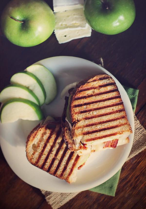 Bacon, Apple, & Brie Paninis by Carpé Season | this heart of mine
