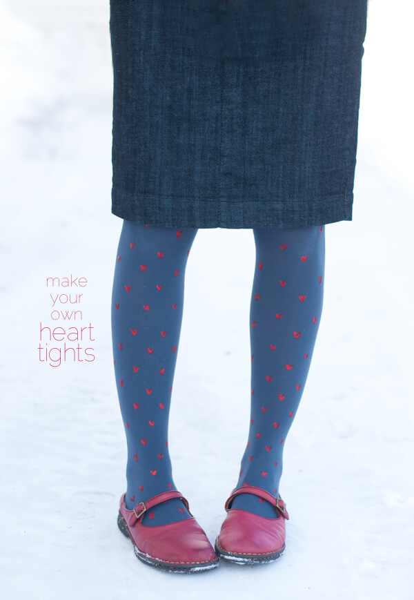 Make your own Heart Tights! | this heart of mine