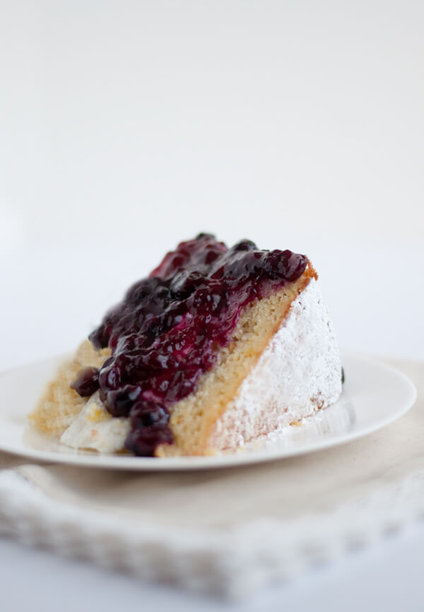 Blueberry Sauce - Perfect for Cake! | this heart of mine