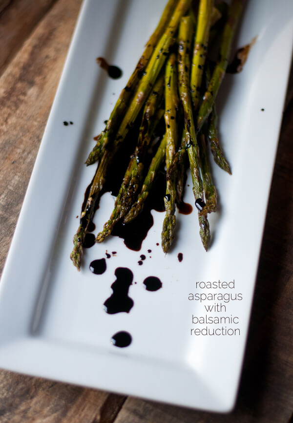 Roasted Asparagus with Balsamic Reduction | this heart of mine