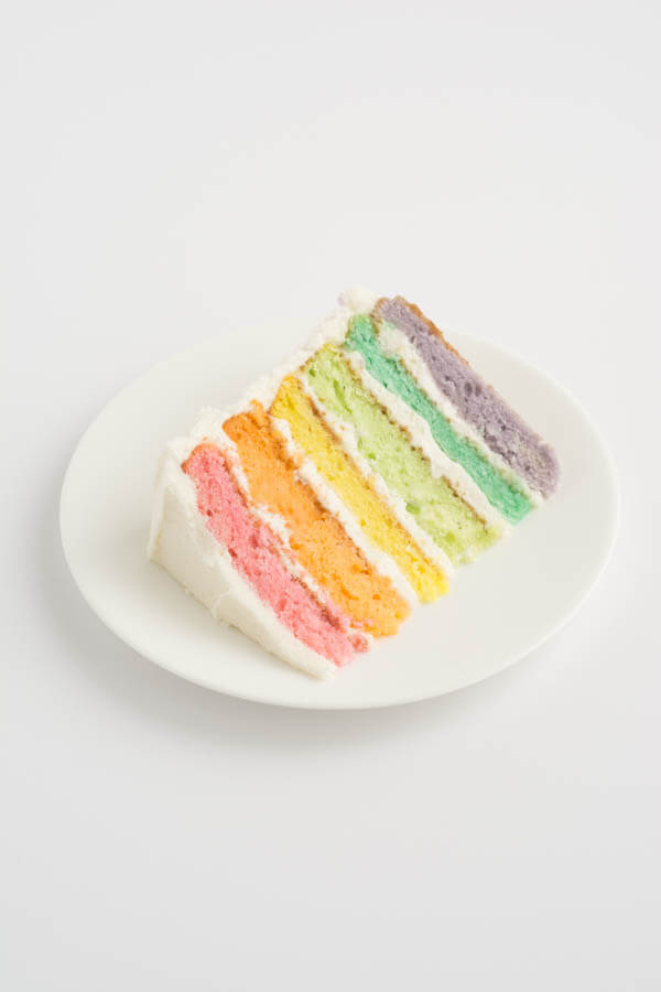 Rainbow Cake | this heart of mine