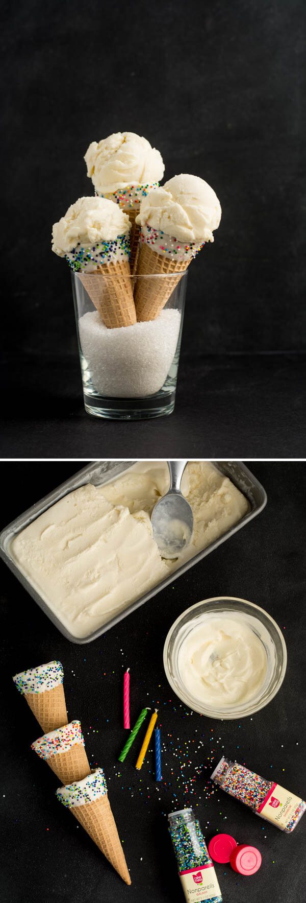 Cake Batter Ice Cream Recipe | this heart of mine