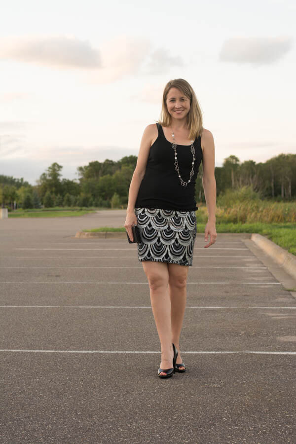 Mini Skirt Redo | this heart of mine