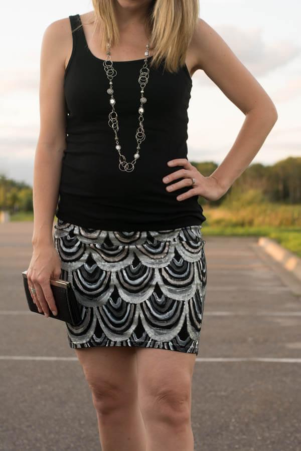 Mini Skirt Redo | this heart of mine