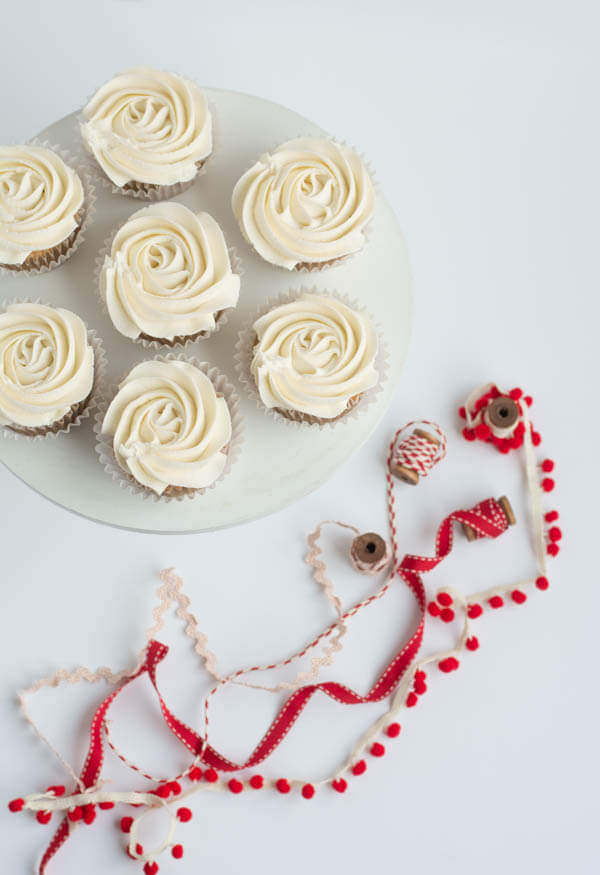 Tart Cherry Cupcakes | this heart of mine