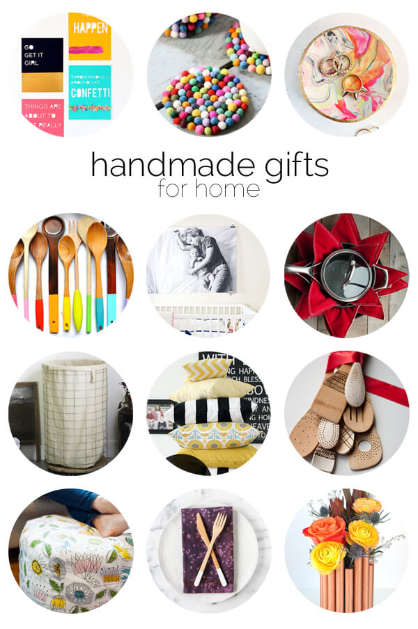 12 Handmade Gift Ideas for the Home | this heart of mine