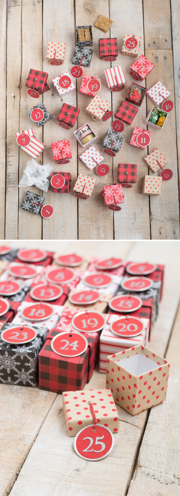 Advent Calendar with Mini Boxes | this heart of mine