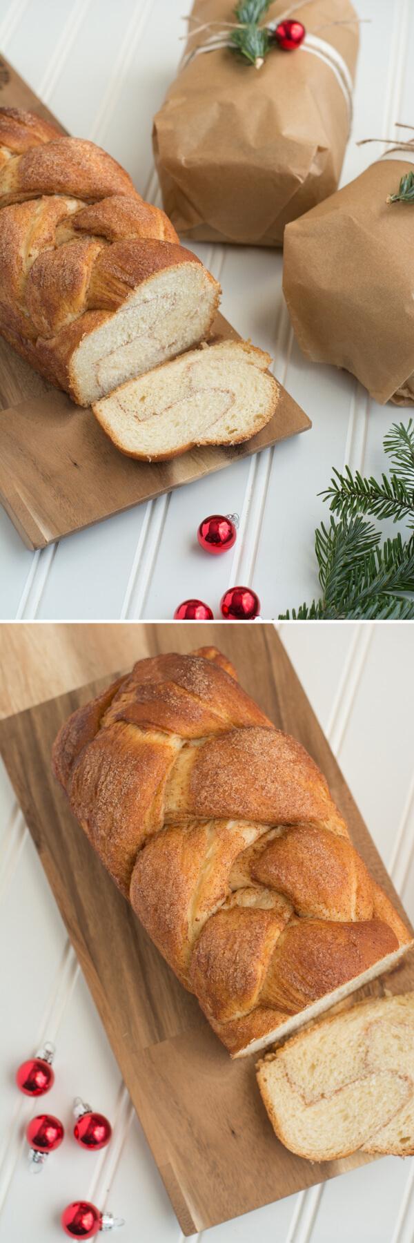 A delicious Christmas treat - Cinnamon Braid Bread | this heart of mine