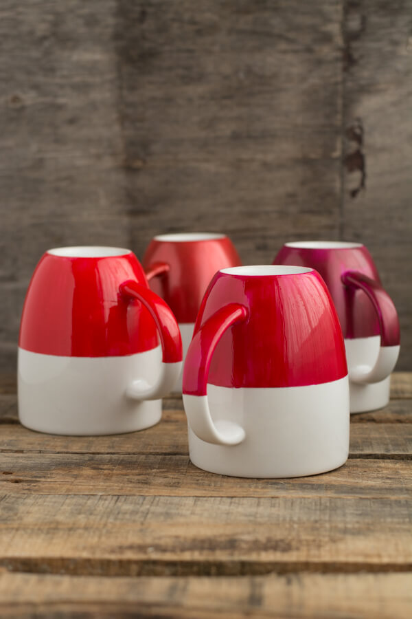 Two-Tone Dipped Mugs | this heart of mine