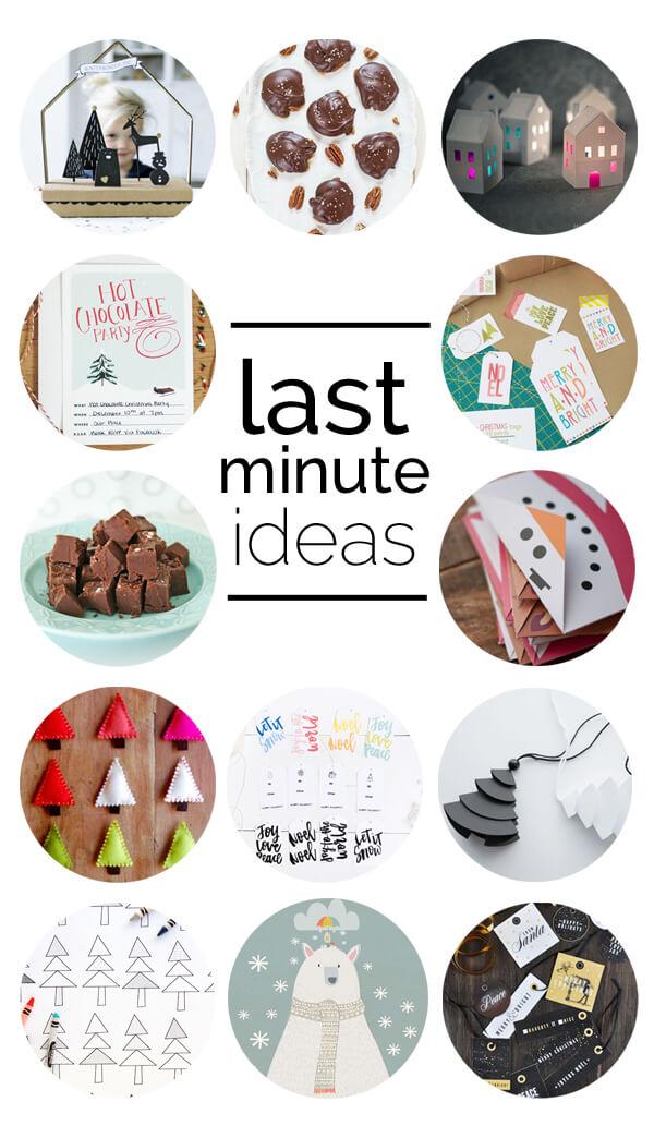 Last Minute Christmas Ideas | this heart of mine