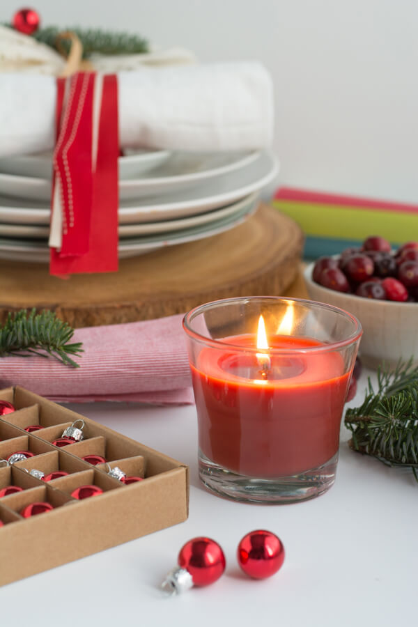 Setting a holiday table using stuff you already have!! | this heart of mine