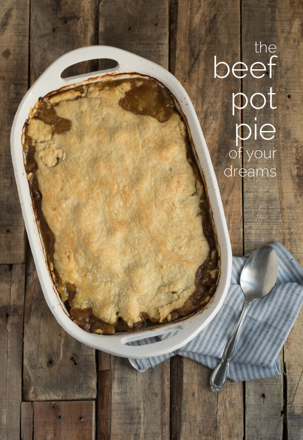 Beef Pot Pie Recipe - it's so delicious! | this heart of mine