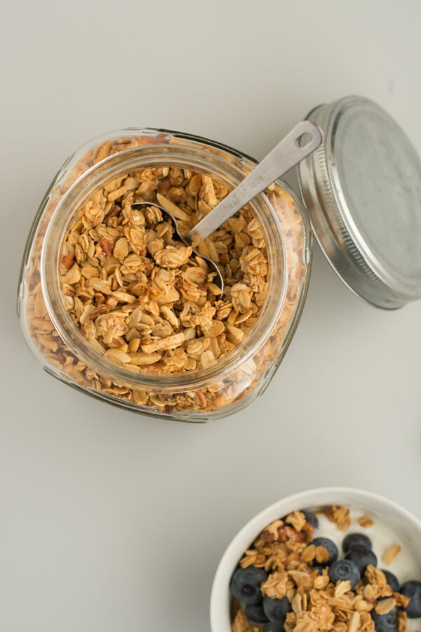 Easy Homemade Granola - make it the way you like it! | this heart of mine