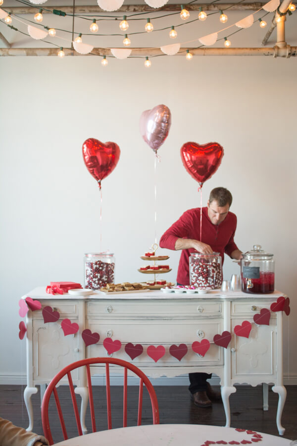 A Valentine Party with M&M's® | this heart of mine