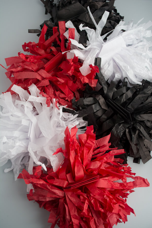 Tissue Paper Pom Poms with Design Mom | this heart of mine
