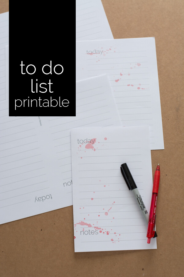 To Do List Printable - Get Organized!! | this heart of mine