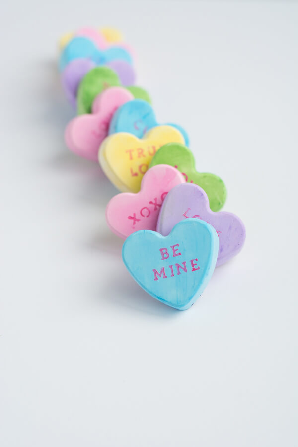 Conversation Heart Magnets | this heart of mine