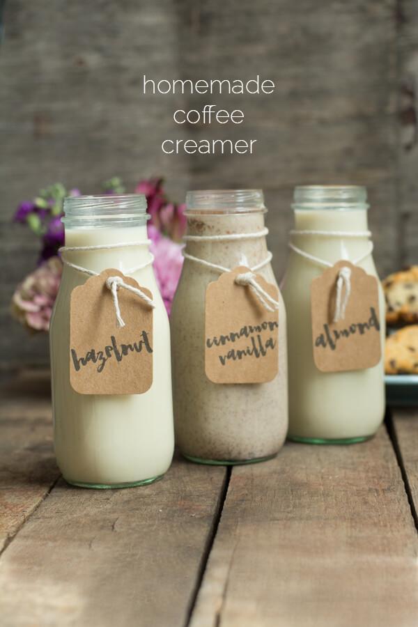Homemade Coffee Creamer   this heart of mine