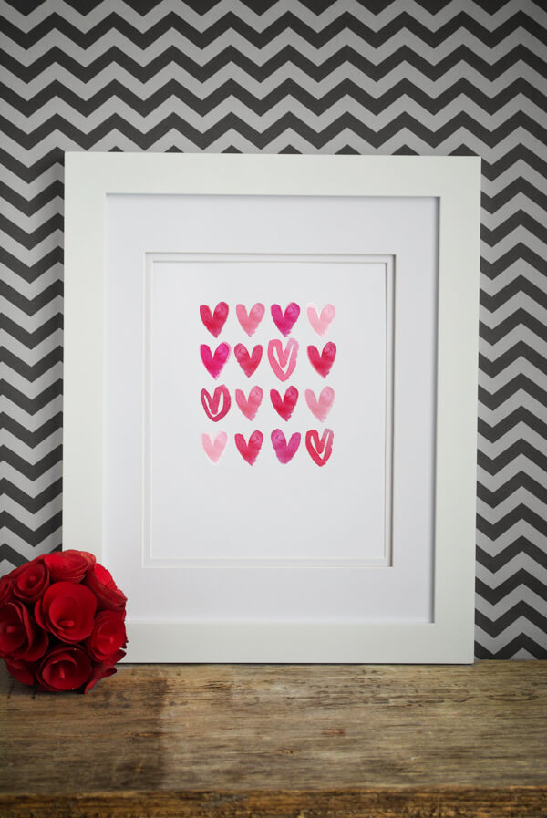 Watercolor Heart Print - Free!! | this heart of mine