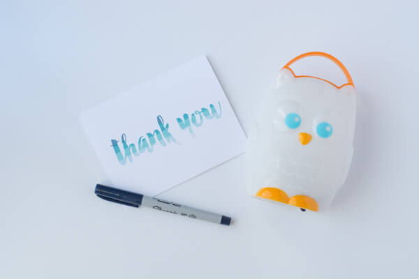 Celebrate the Little Things: Printable Thank You Cards | this heart of mine