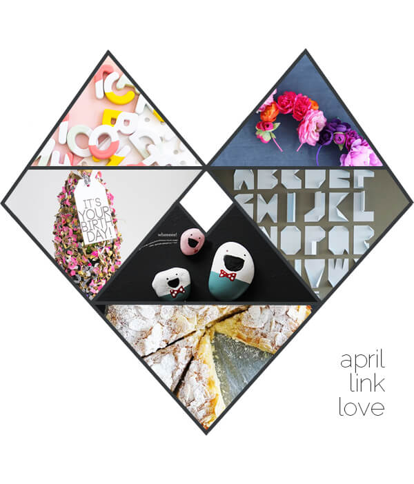 April Link Love | this heart of mine
