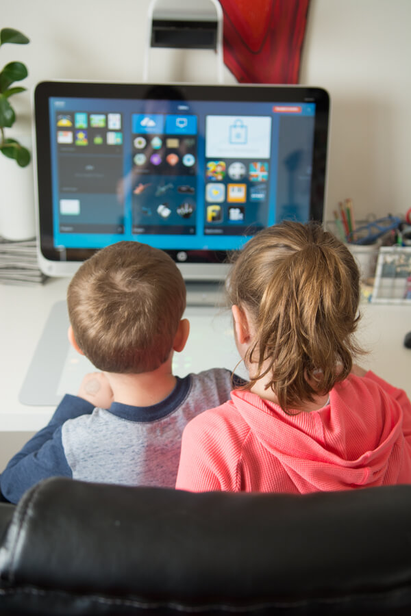 Digital Creativity & Children with HP® Sprout | this heart of mine