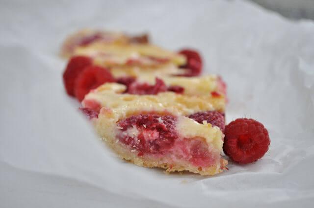 Raspberry Custard Kuchen • this heart of mine