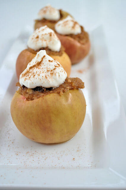 Baked Apples with Oatmeal & Brown Sugar 7