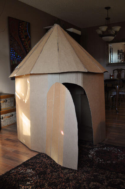Cardboard Play Tower This Heart Of Mine