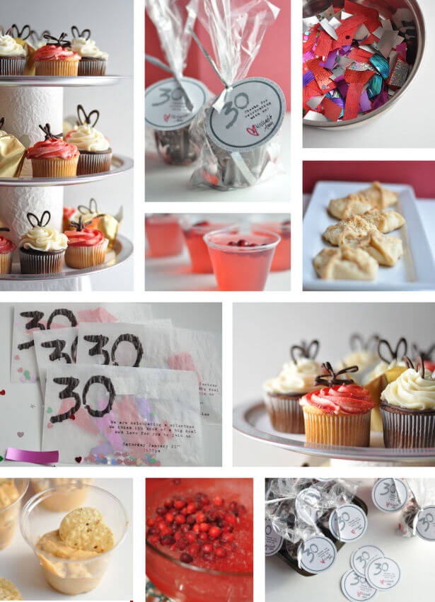 30th birthday party this heart of mine for 30th birthday decoration ideas