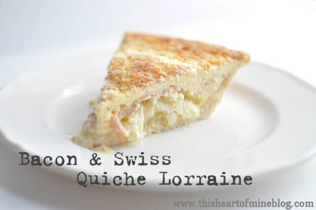 to put together and, for all your effort, the recipe makes two quiches ...