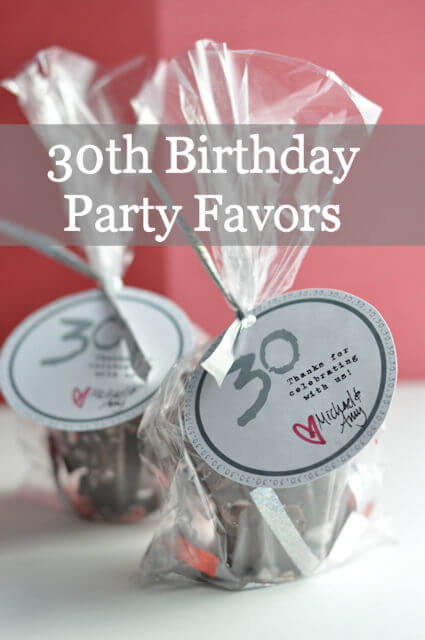 30th Birthday Party Favors Birthday Party Ideas Minnesota