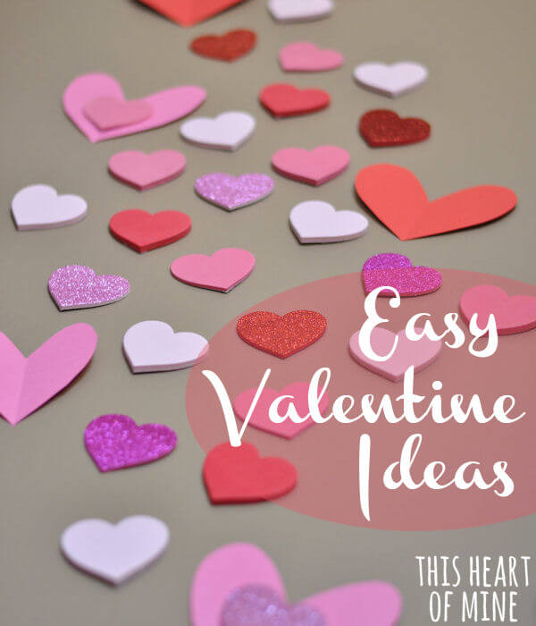 Easy valentines this heart of mine for Simple valentines day dinner