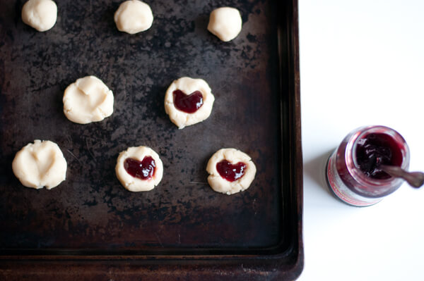 Recipe: Raspberry Almond Shortbread Thumbprint Cookies – this heart ...
