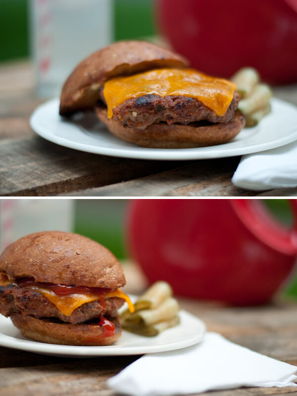 Stuffed Bacon Burger with Cheese | this heart of mine