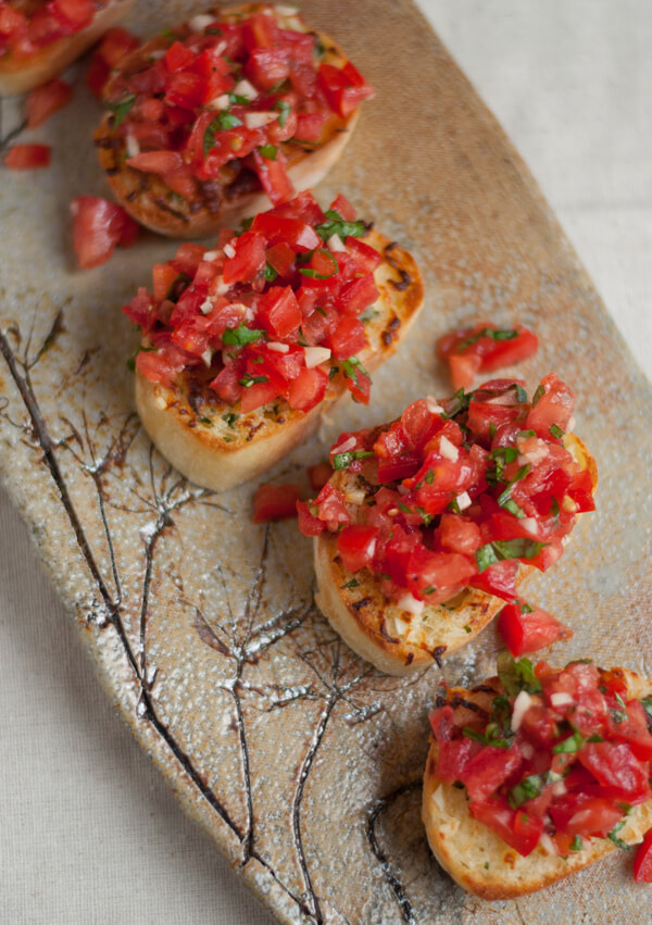 Recipe: Bruschetta with Garlic Mozzarella Toast • this heart of mine