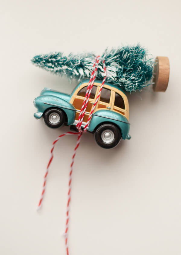 Car & Tree Ornament • this heart of mine
