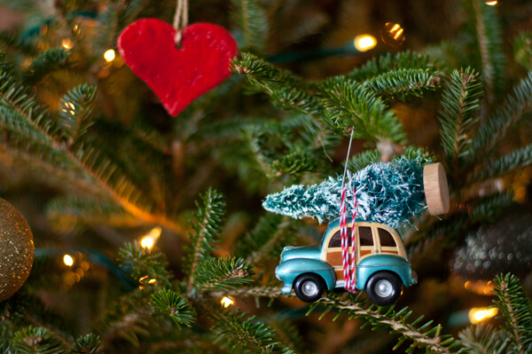 car tree ornament this heart of mine - Christmas Tree Ornament
