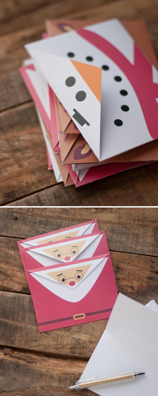 Printable holiday envelopes this heart of mine - Sobre de navidad para imprimir ...