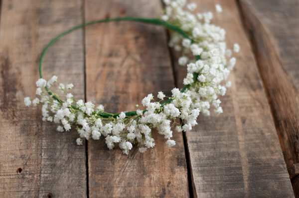 Babys Breath Crown O This Heart Of Mine