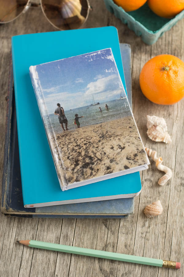 diy photo transfer journal