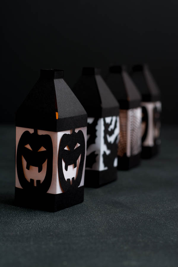 Halloween Paper Lanterns, made easy with a Cricut Explore!   this heart of mine